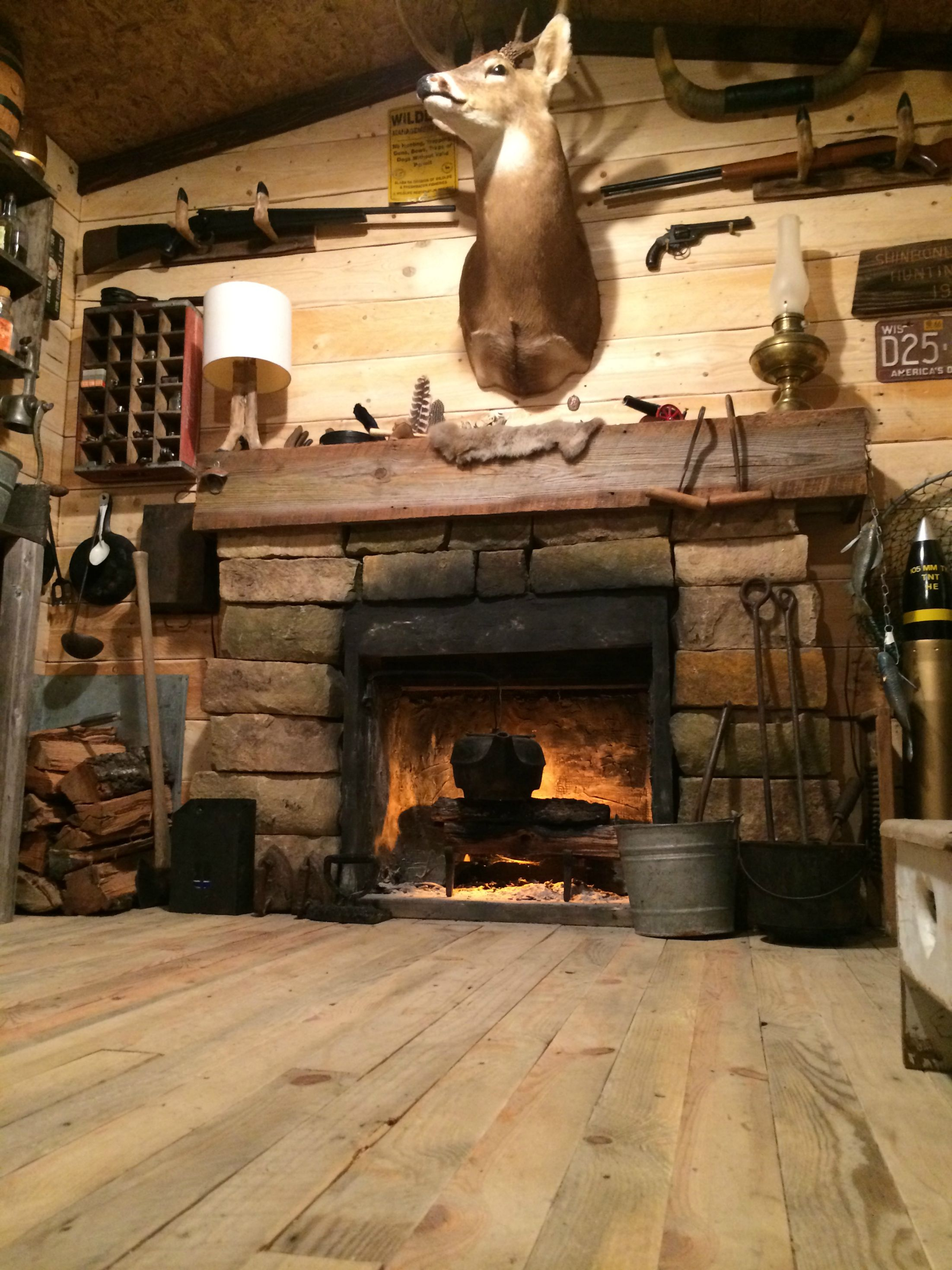 107 Rustic Cabin Man Cave I Built In My Basement
