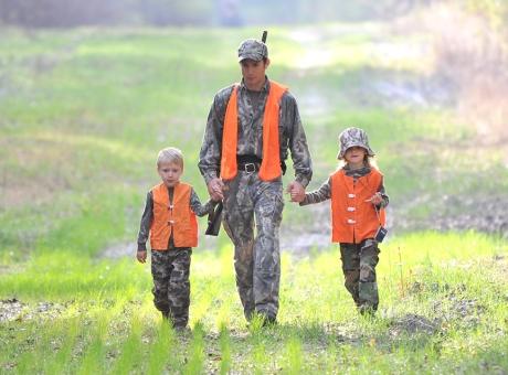 family hunt on Edwards WEA